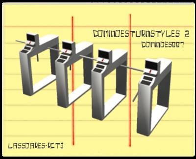 DominoesTurnstyles 2 (Dominoes007) lassoares-rct3