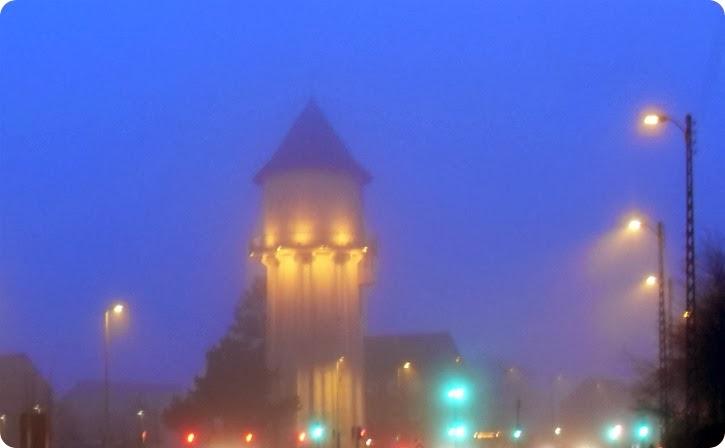 Vandtårnet på Tårnvej - februar 2014