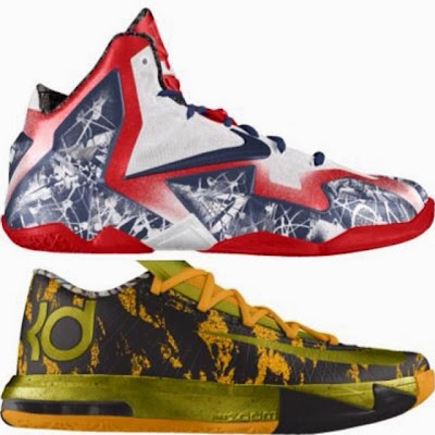 nike lebron 11 id allstar 1 01 New NIKEiD LeBron 11 Options Exclusively for All Star Weekend