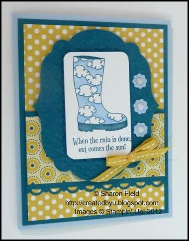 Bootiful occasions rain boot and paper posies