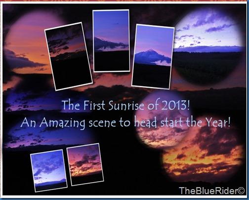 2013 sunrise