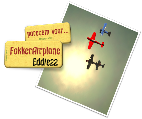 FokkerAirplane (Eddie22) lassoares-rct3