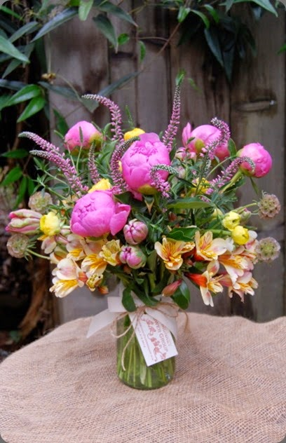 alstromeria MFGBrightBouquet monkey flower group