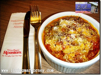 Kenny Rogers Eggplant Pomodoro