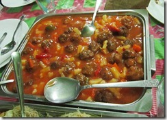 sweet and swour meatballs, 240baon