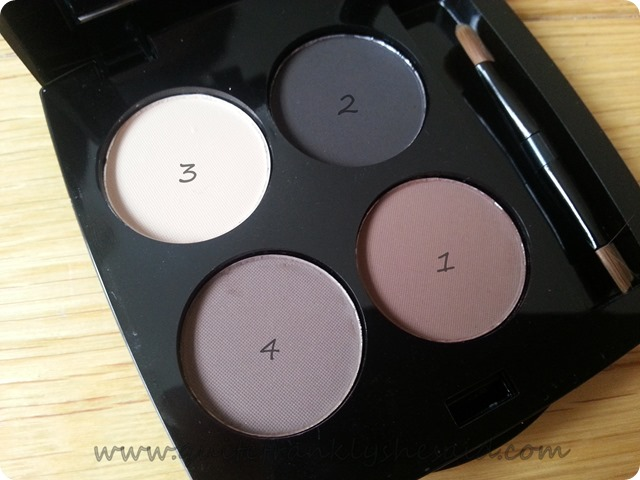 HD brows eyebrow eye brow palette vamp swatches