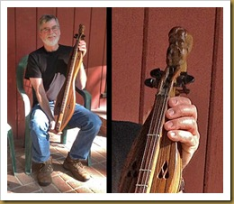 Ron at Charlies with dulcimer3-with closeup