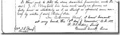 SELLERS-WITT LAND DEED. BK 70, Pg 574(Bottom)