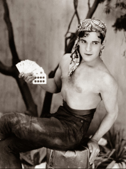 Ramon Novarro (The Road to Romance, 1927).