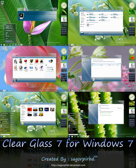 Clear Glass 7