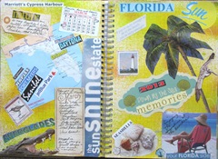 Smash book March 2013 double page