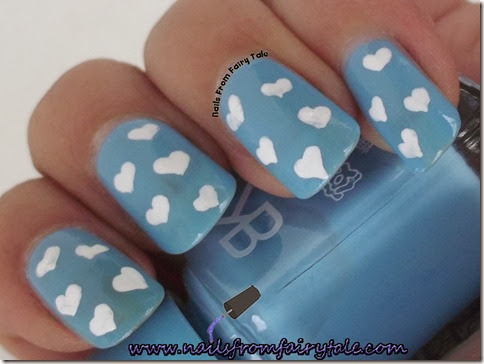 bk nail polish 6 with hearts