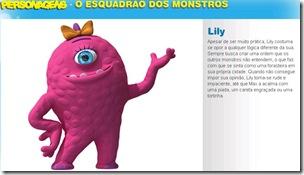 o esquadrão dos monstros lily - Priscila e Maxwell Palheta