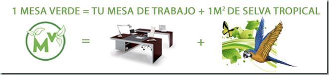 mesas verdes