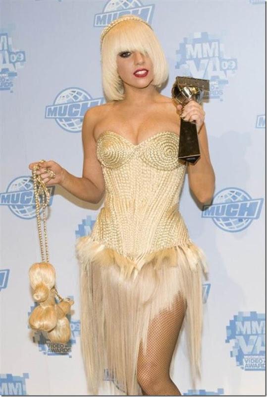 Cortes de cabelo de Lady Gaga (5)