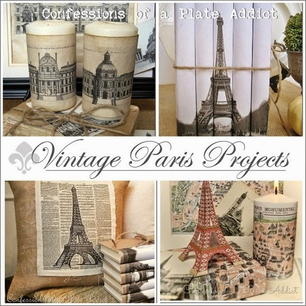 CONFESSIONS OF A PLATE ADDICT Vintage Paris Projects