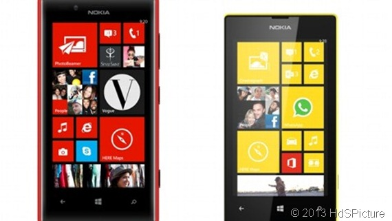 Nokia Lumia 920 dan Nokia Lumia 520