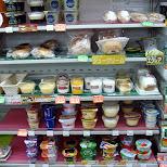deserts at family mart in Roppongi, Tokyo, Japan