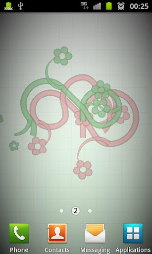 Peppy Flowers Live Wallpaper