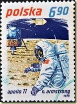 14596911-poland--circa-1979-a-stamp-printed-in-poland-shows-neil-armstrong-and-apollo-11-circa-1
