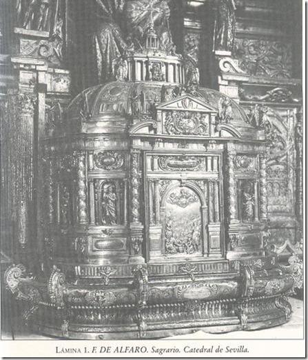sagrario de la catedral de Sevilla