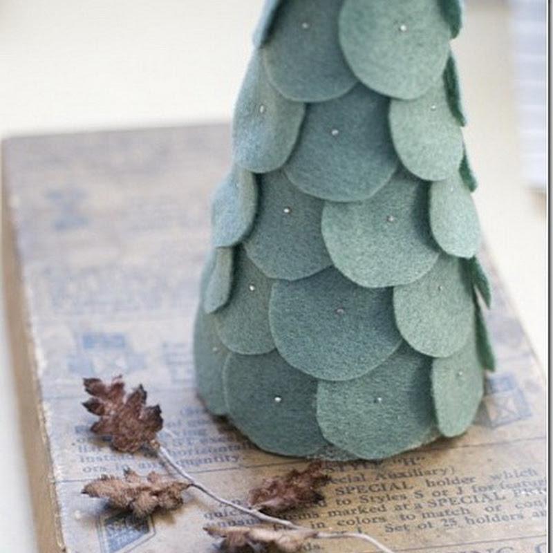 Manualidades niños, ideas árbol de Navidad