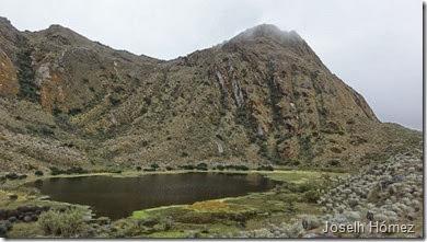 Laguna de Bocagrande páramo de Sumapaz