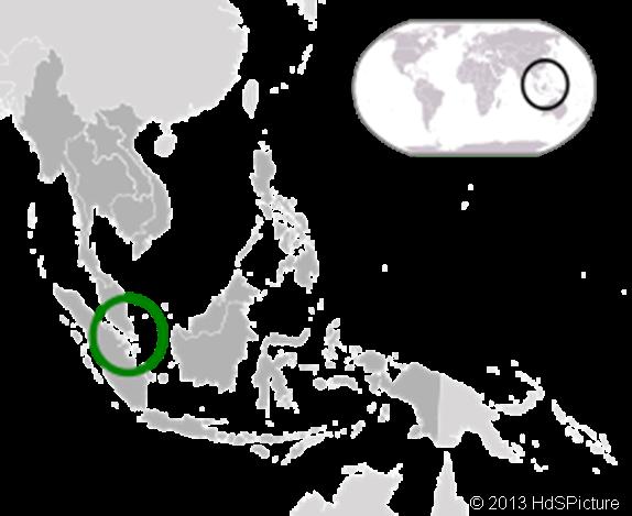 lokasi Singapura