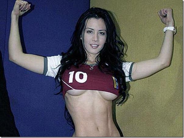 Diosa Canales modelo venezuelana na Copa América (5)
