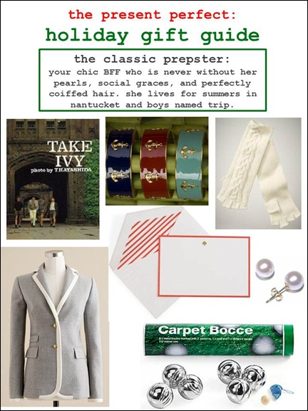 2011.11.29 - Holiday Gift Guide - The Classic Prepster