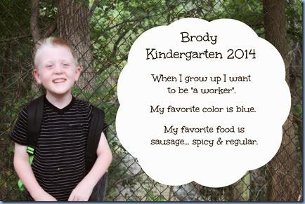 Brody Kinder 2014