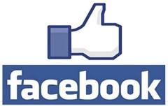 Dedo hacia arriba en Facebook
