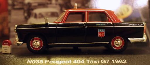 Peugeot 404 1962 Taxi G7