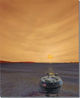 TiME (Titan Mare Explorer) illustration