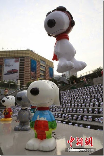 Snoopy at Pearl Square , IFC Mall, LuJiaZui, Shanghai 史努比。上海 03