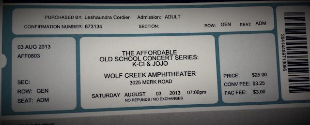 concert tickets | Cordier