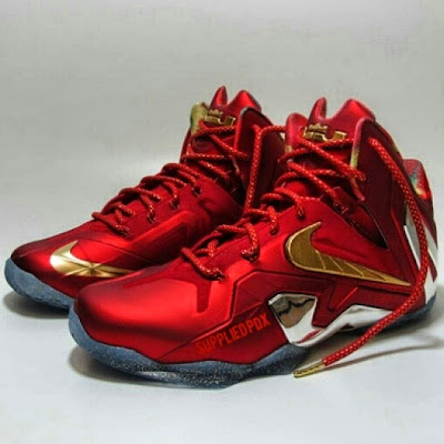 nike lebron 11 ps elite finals sample 1 01 Nike Was Ready For King James to 3 Peat with LeBron 11 Championship Pack