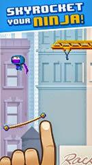 لعبة النينجا النطاط للأيفون والأيباد Ninja UP! - 1