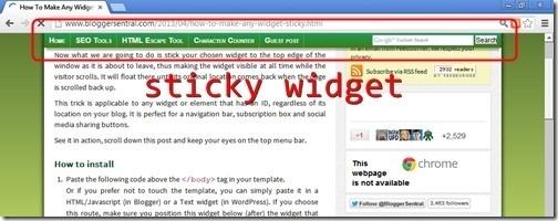 sticky widget[6]