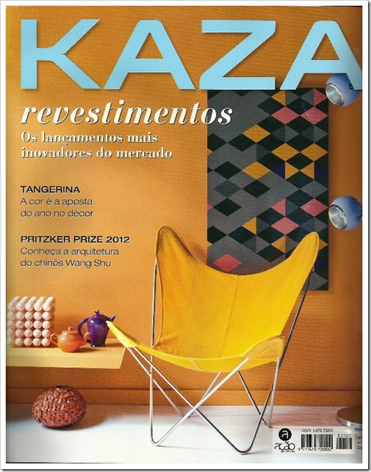 CLIPPING REVISTA KAZA CAPA