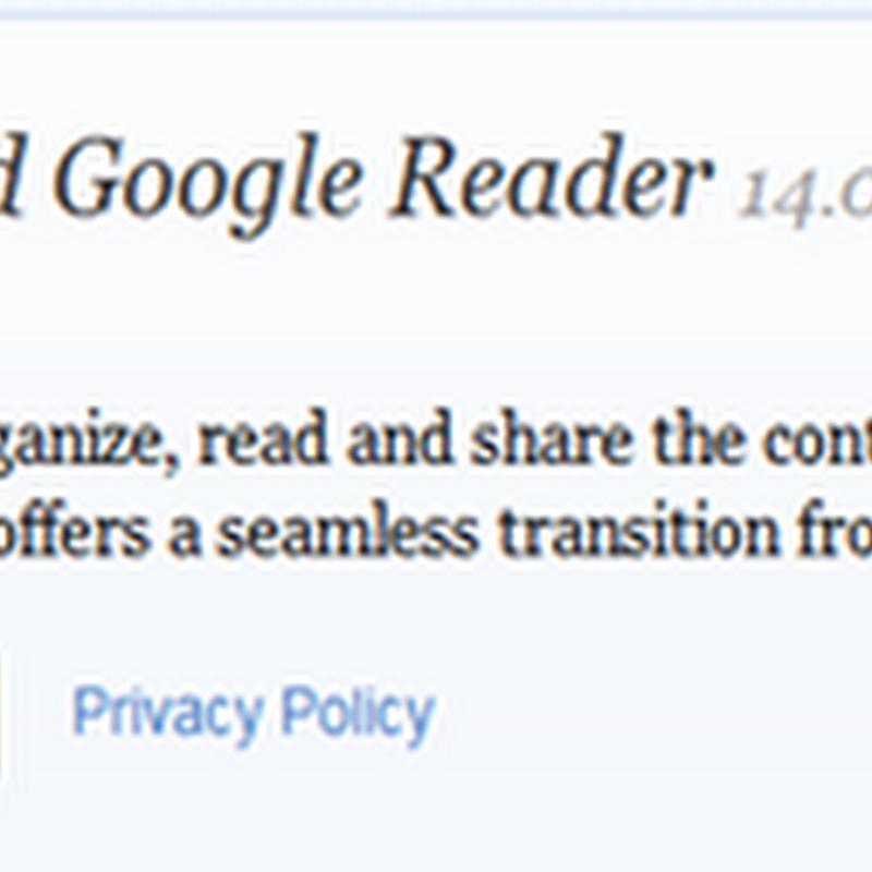 Feedly เครื่องมืออ่าน Feed แทน Google Reader