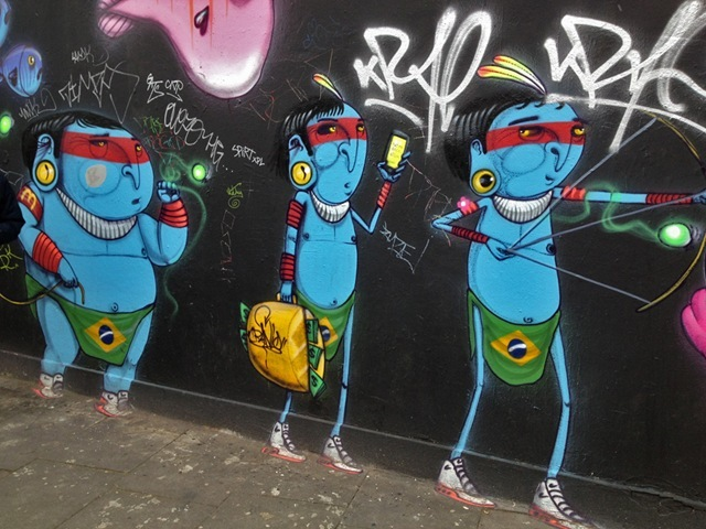 Amazonian Warriors in Shoreditch