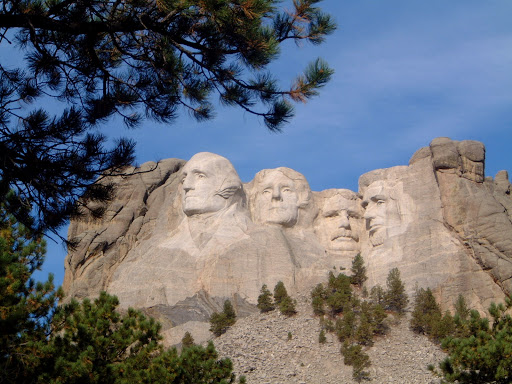 Morning shot of Mt. Rushmore (Photo by Megan McFarland)