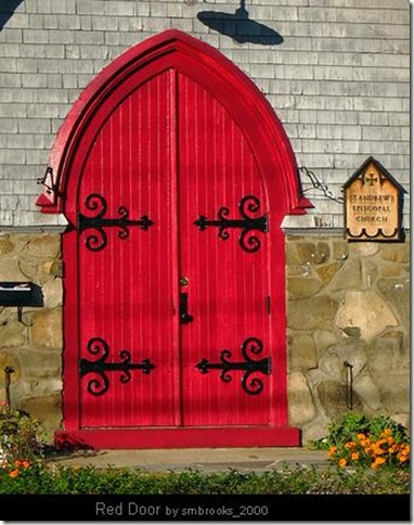 Red Front Door