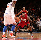 lebron james nba 130301 mia at nyk 34 LeBron Debuts Two New Pairs at MSG   Carmex iD & Grey PE