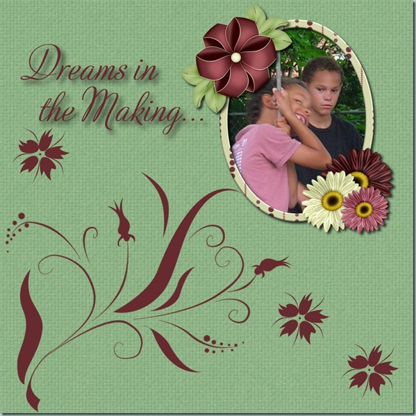 LO1 Floral Dreams by CBJ