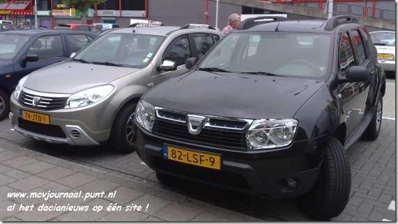 Dacia Duster en Dacia Sandero