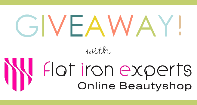Flat Iron Experts Giveaway on allonsykimberly.com