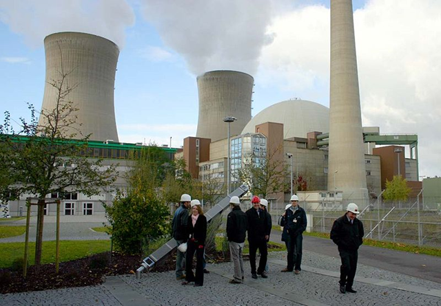 Nuclear power plant at Grafenrheinfeld in Germany, 11 August 2005. Photo: Christian Horvat / VisualBeo / Wikipedia