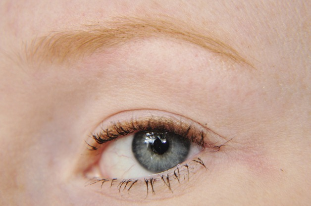 how to fill in sparse blonde eyebrows tutorial mua eyebrow pencil